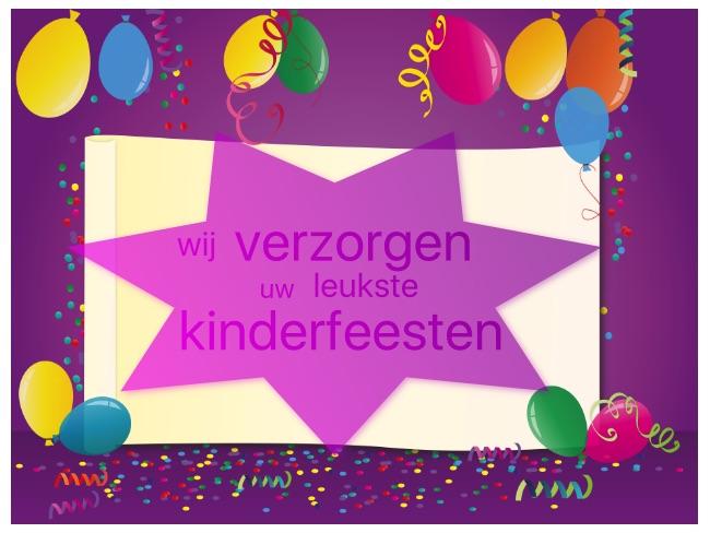 Kinderfeestjes? ~ deMusicalSchuur.nl
